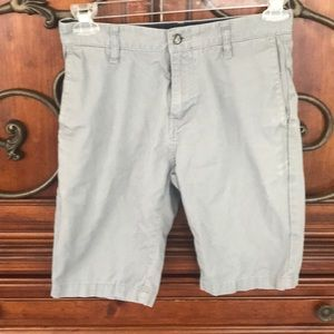 Light gray Young teen Volcom shorts